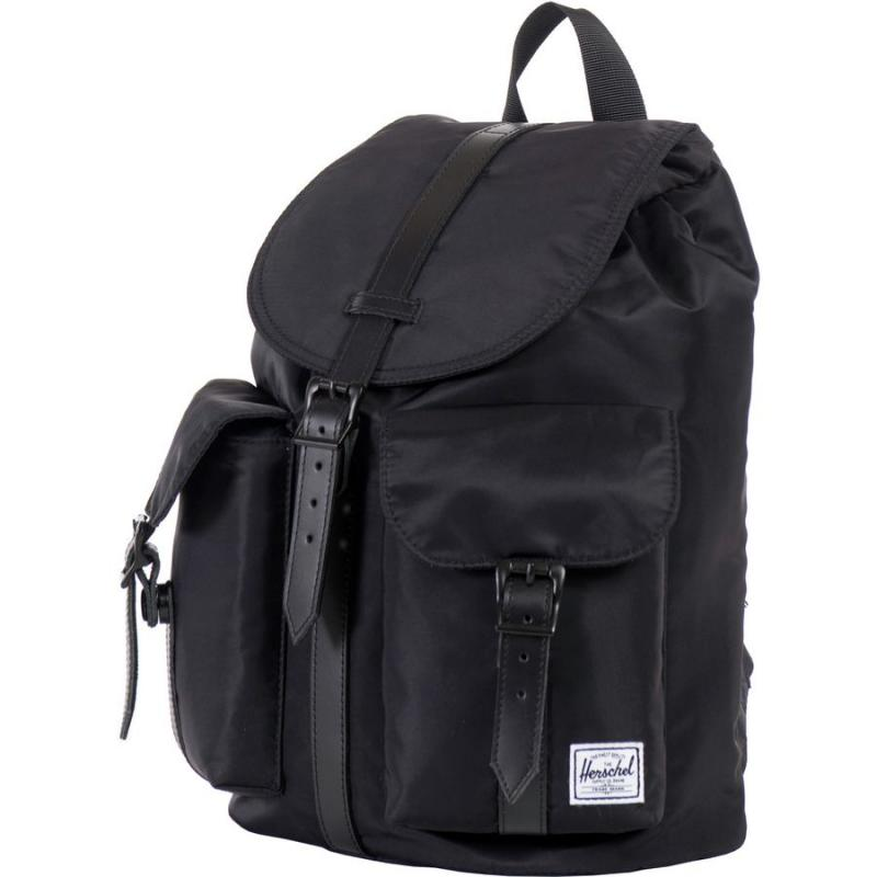 5eca9463bf1 Get Quotations · Us direct mail herschel supply B0753T burglarproof fashion  black leather backpack handbag