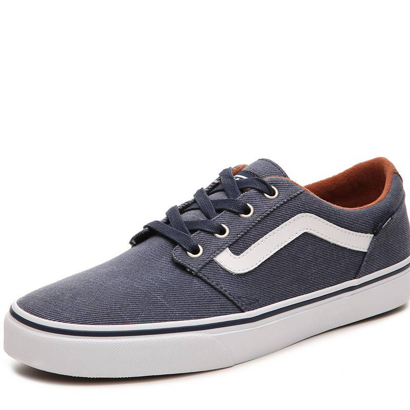 Us direct mail vans/vance genuine 349308 men's soft and comfortable breathable lace canvas shoes to help low