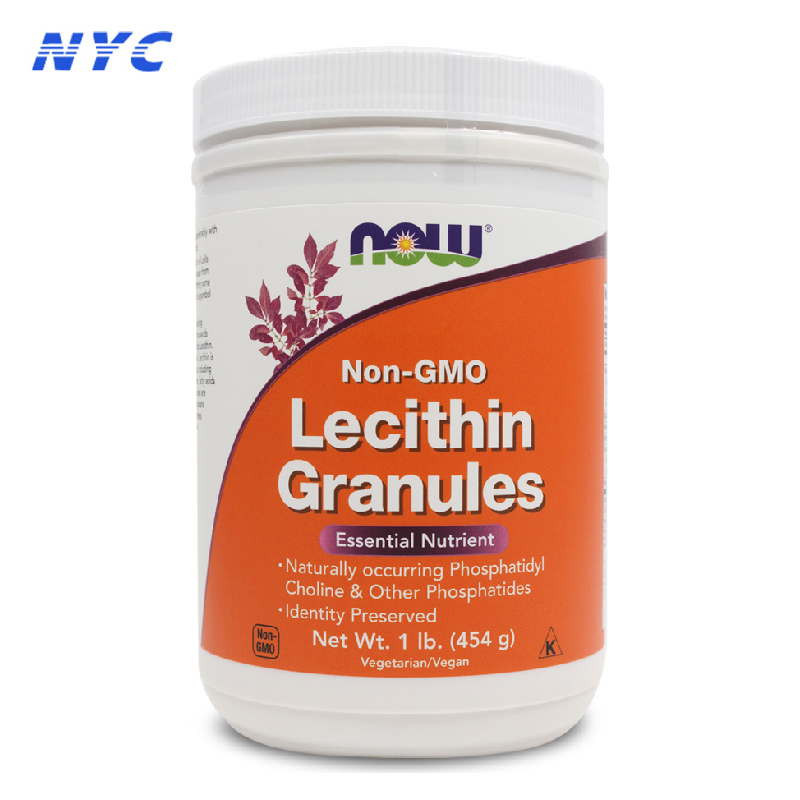 Us imports of now foods organic soy lecithin lecithin powder 454g lipid lowering cholesterol