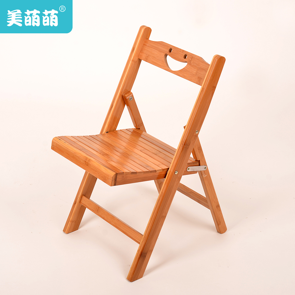 Us meng meng bamboo chairs wood folding chair portable fishing chair stool stool changing his shoes children learning chair
