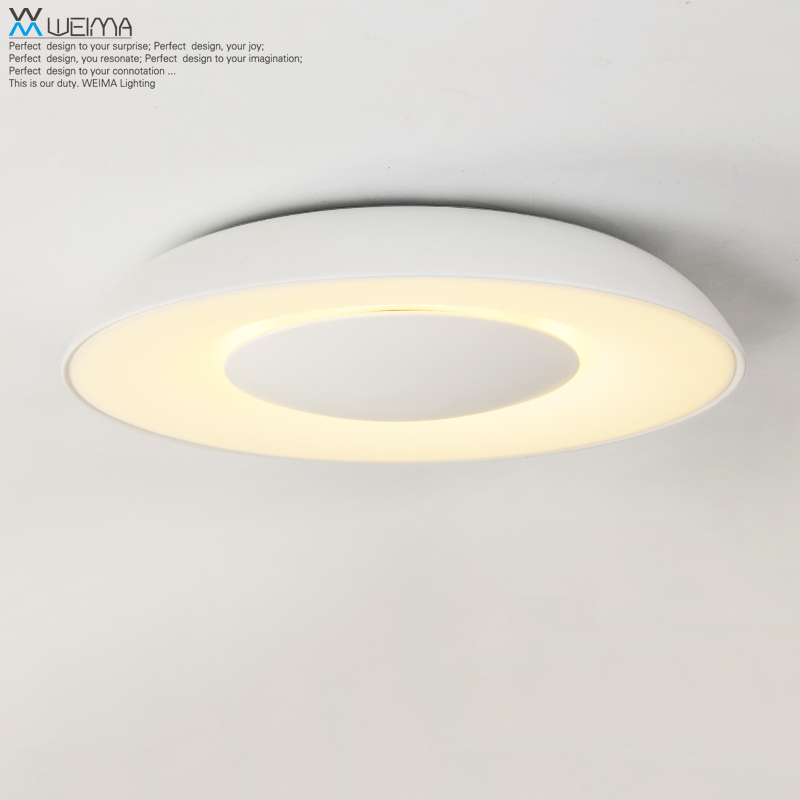 Vemma creative led ceiling lighting minimalist modern round dining hall bedroom lamp romantic artistic personality