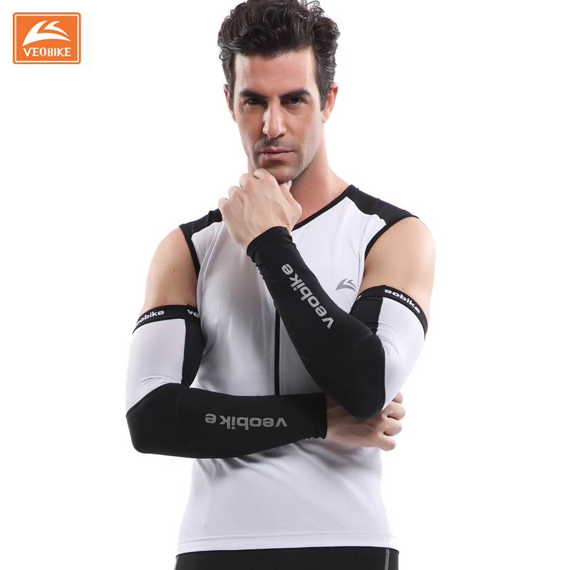 Veobike only faction spring and summer sunscreen breathable outdoor sports riding cuff sleeve armband gauntlets sleeves men