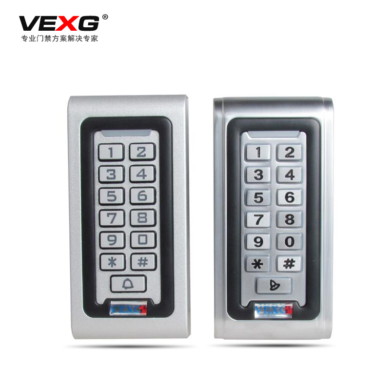 Vexg waterproof metal access card access control one machine access controller access control id card