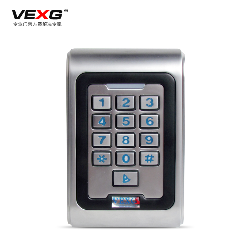 Vexg waterproof metal access control access one machine machine credit card machine ip68 waterproof outdoor 2 user card