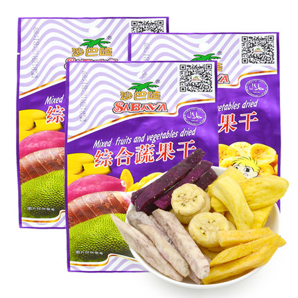 Vietnam imported specialty dried fruit snacks sabah wow integrated dry fruits and vegetables dry fruits and vegetables water dried fruit and vegetables dry 230gx3