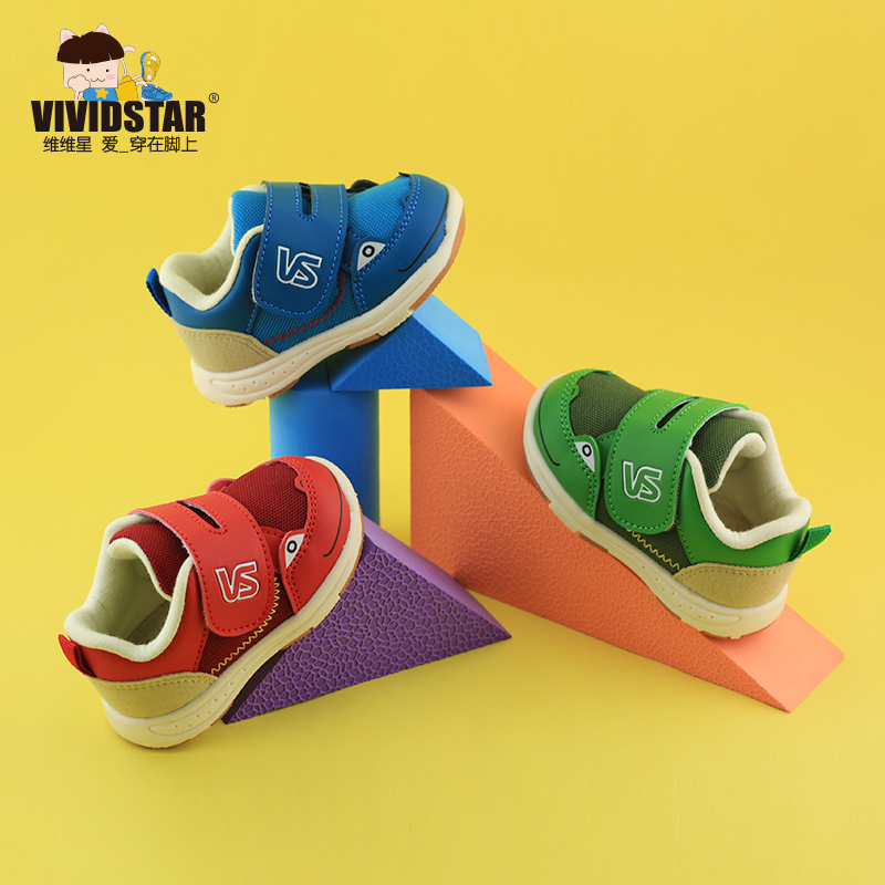 Vivian star children breathable female baby male baby shoes function shoes toddler shoes boys shoes female child sport shoes spring and autumn