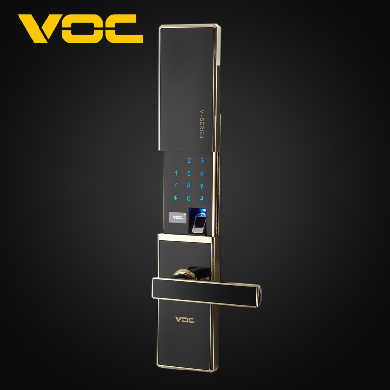 Voc fingerprint lock home security door fingerprint lock fingerprint lock smart card lock password lock password lock electronic door lock the doors of the door