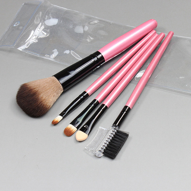 Voce beauty tools makeup brush 5 paint brush tool eyeshadow eye shadow brush lip brush eyebrow comb