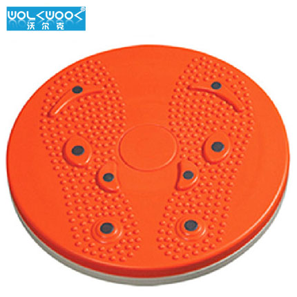 Volcker home fitness equipment twister plate twister plate fitness turntable magnetic thin waist slimming wriggled device