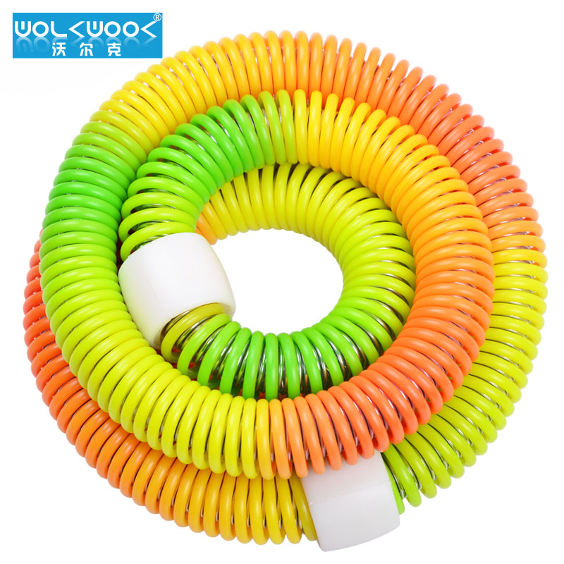 Volcker weight 13.358kj 5kg colorful soft spring hula hoop hula hoop hula hoop lose weight slimming abdomen shipping