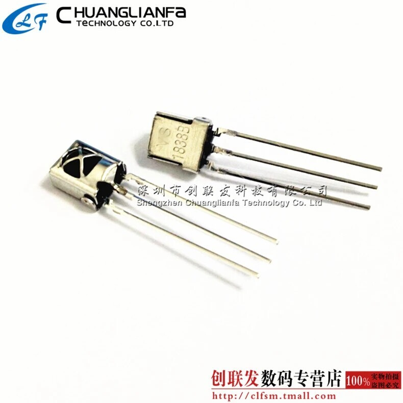 Vs1838 vs1838b universal integrated infrared receiver infrared receiver tube with shield