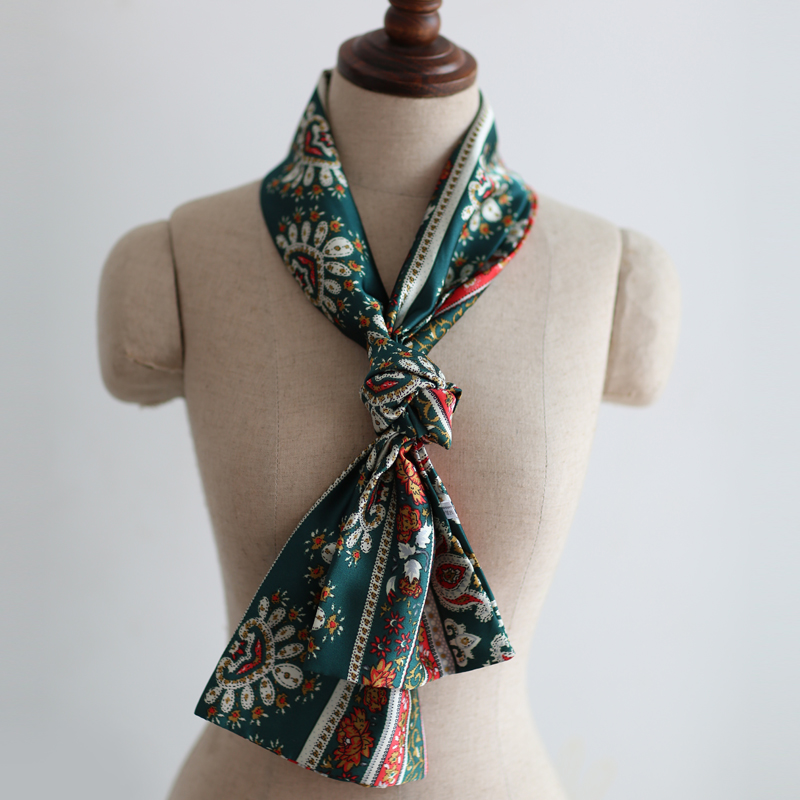 Wai us spring new korean version of fashion wild ms. thin section of the spring and autumn long scarf fashion scarf small scarf