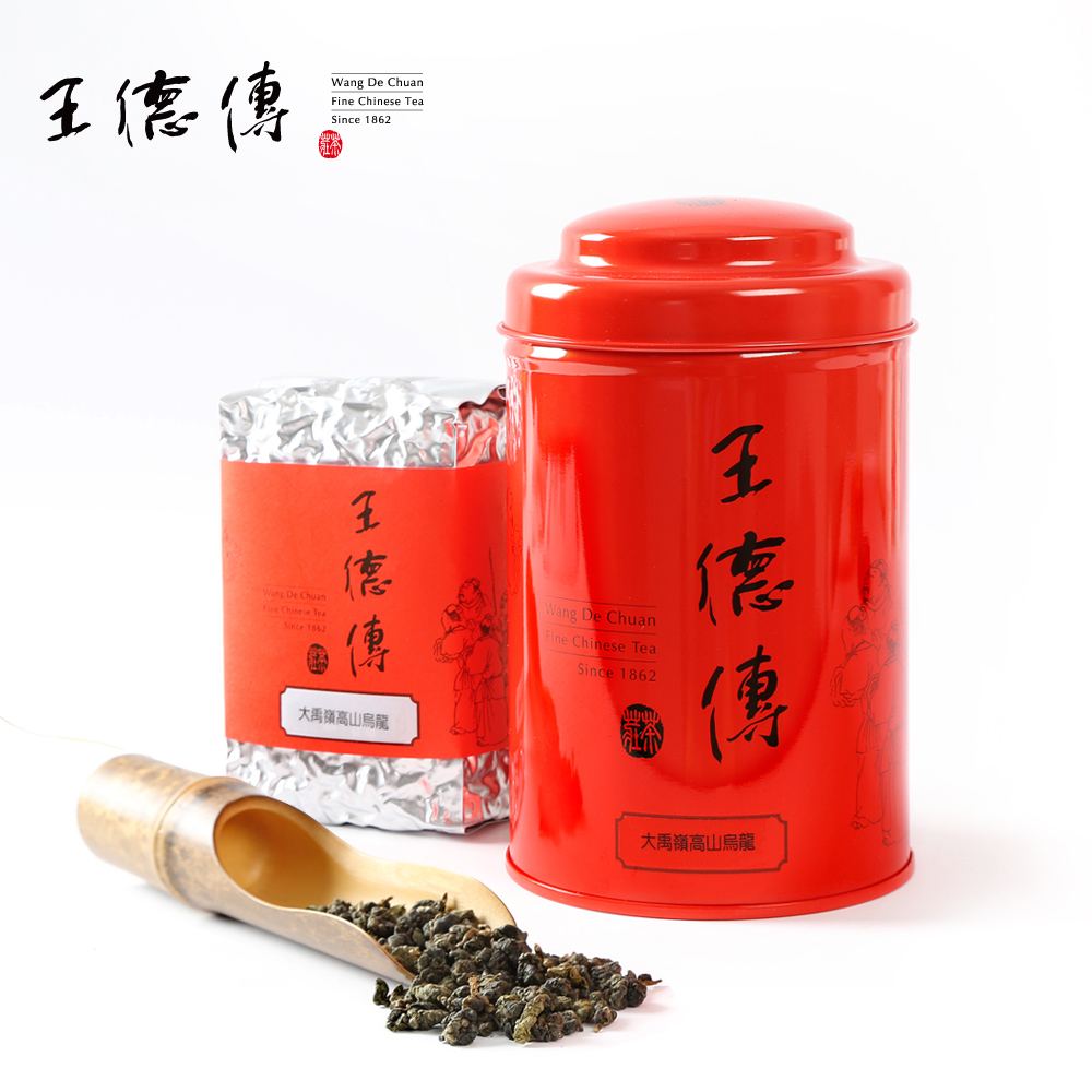 Wang chuan yu ling oolong 150g taiwan mountain tea taiwan high mountain oolong tea fragrance and sweet