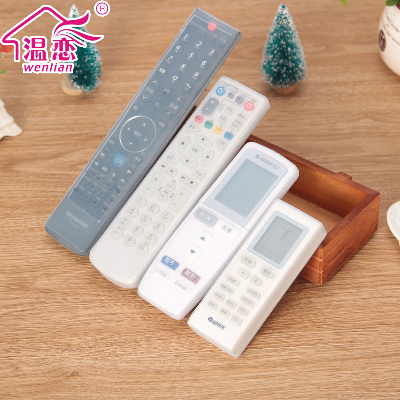 Warm love the remote control sets the remote control cover remote control remote control sets the remote control cover dust protection cover silicone Fabric