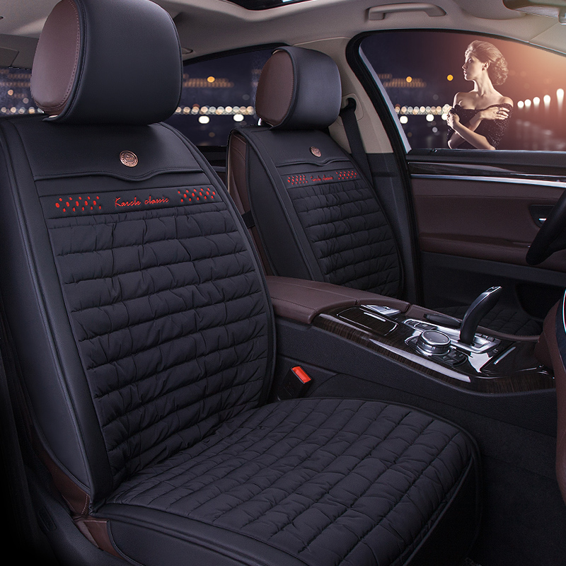 Warm winter short plush seat covers the whole surrounded by car seat jetta lingdu bora lavida sagitar polo seat cover seat cover