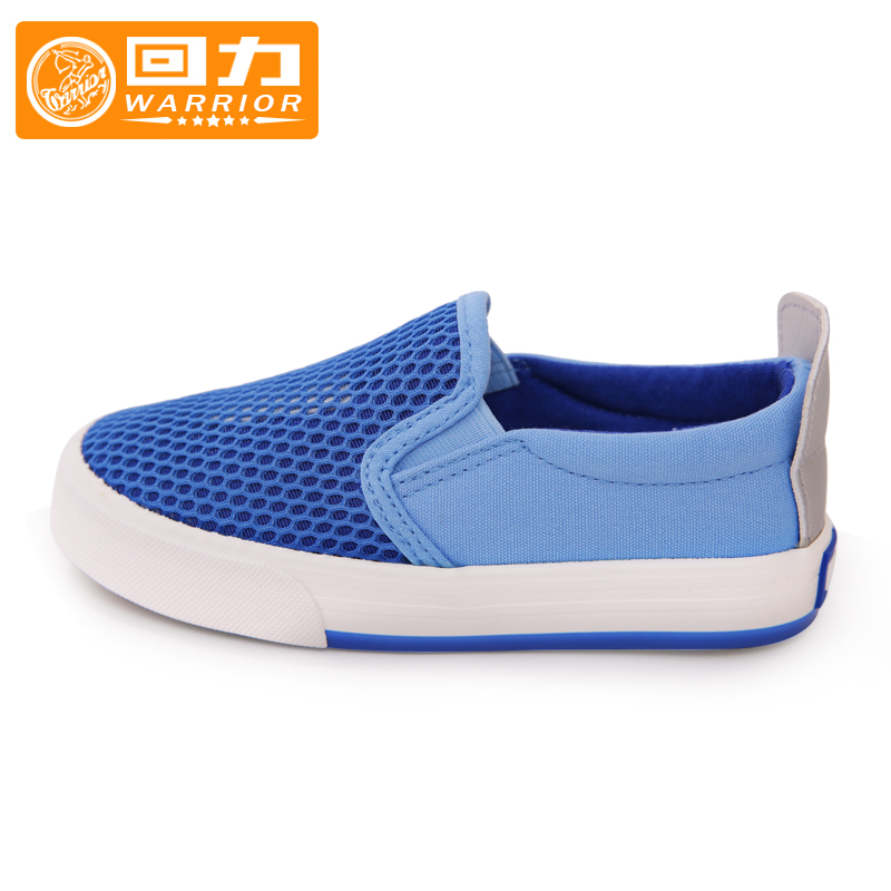 Warrior boys shoes 2016 summer new breathable mesh shoes casual sports shoes and women's shoes tide shoes baby shoes