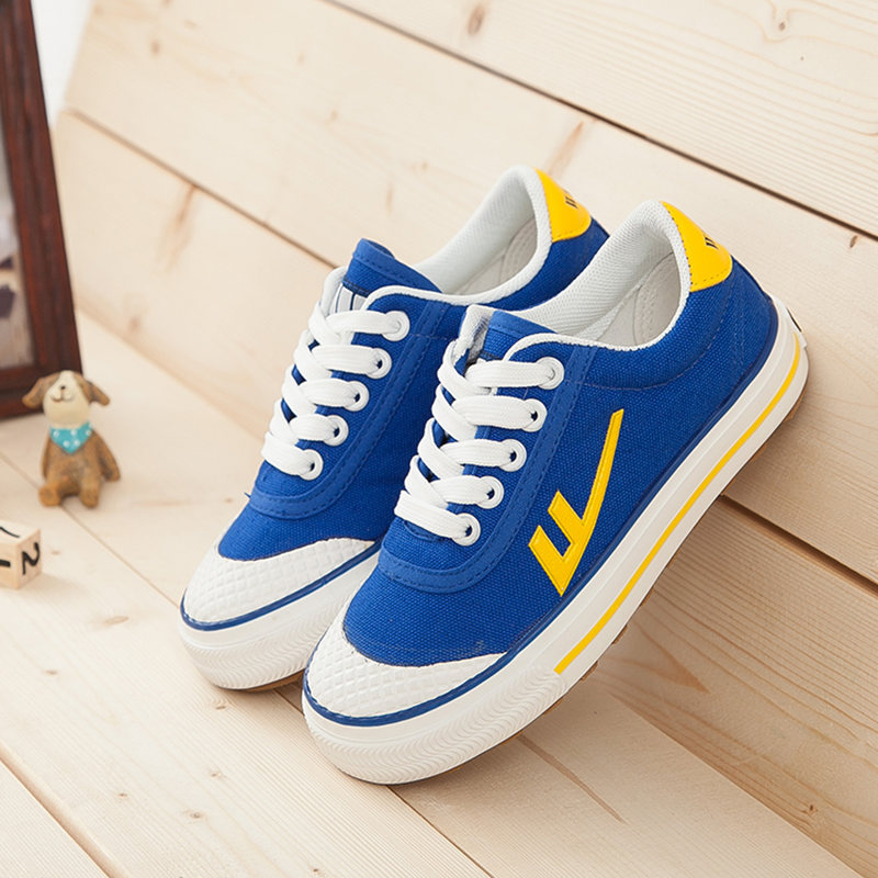 Warrior boys shoes canvas shoes football shoes autumn girls shoes children shoes sneakers shoes 2016 spring