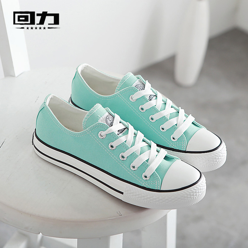 Warrior shoes canvas shoes classic casual shoes to help low summer shoes casual white shoes couple models candy ball