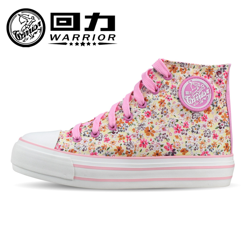 Warrior warrior shoes high platform shoes canvas shoes shanghai warrior sneakers shoes women shoes WXY-600