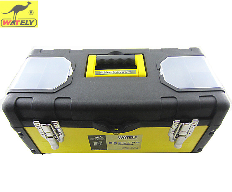Wately/wtl iron versatile toolbox toolbox household tool box car carrier