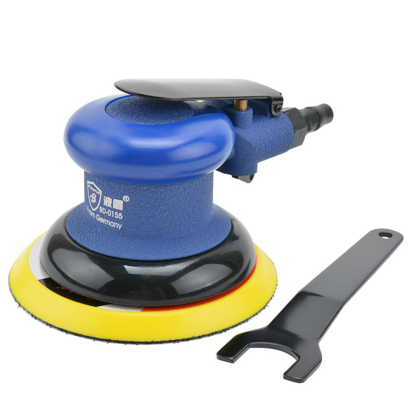 Wave shield 5 125mm inch disc polishing machine pneumatic pneumatic sander sandpaper machine grinding machine BD-0155