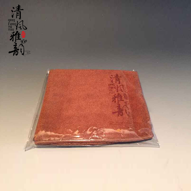 Wd-733228 linen cloth super absorbent cloth tea towel tea towel pad kung fu tea tray tea accessories genuine special