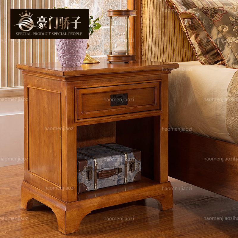 Wealthy family pride euclidian american wood bedside cabinet storage cabinet lockers bedroom furniture shipping deals