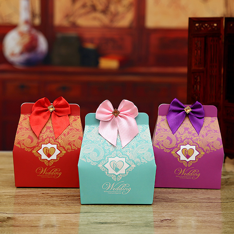 Wedding candy box wedding candy box creative candy box gift box wedding candy bag with accessories 2016