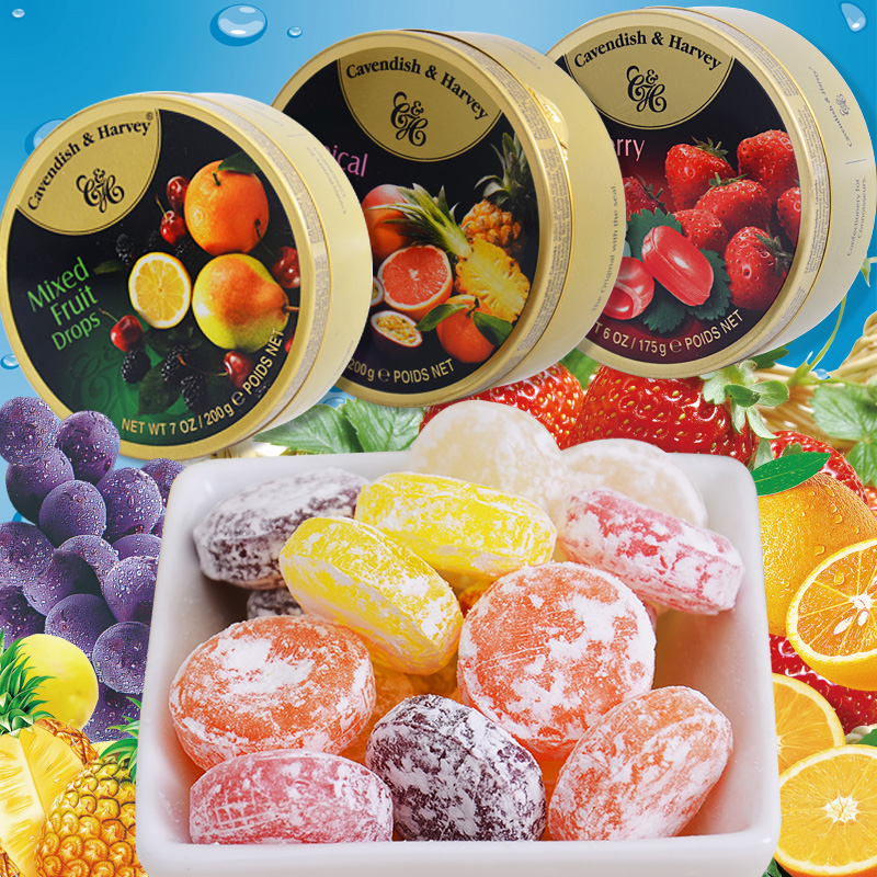 Buy Germany cavendish sugar imported fruit sugar candy