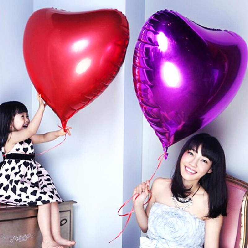 Wedding supplies large shaped aluminum balloons foil balloons birthday party celebration arranged marriage room decoration