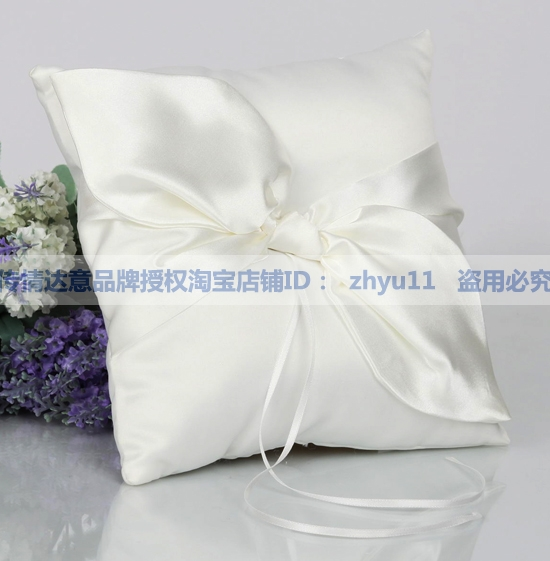 Wedding supplies wedding supplies wedding supplies european calla oblique knot ring pillow wedding ring pillow ring setting