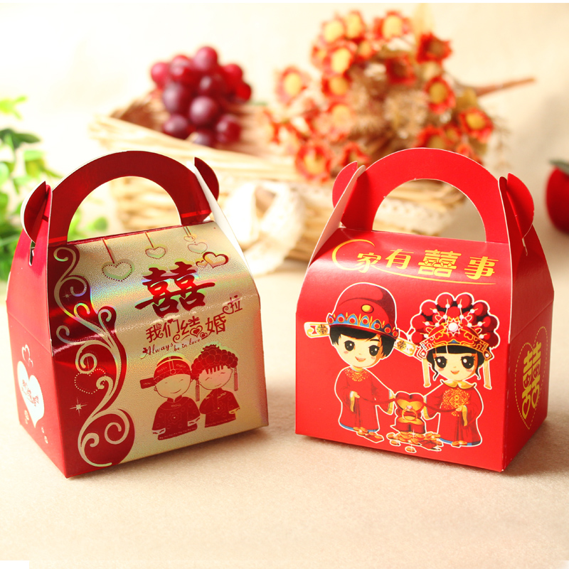 Wedding wedding supplies european creative candy box candy bags wedding wedding supplies chinese wedding candy Box