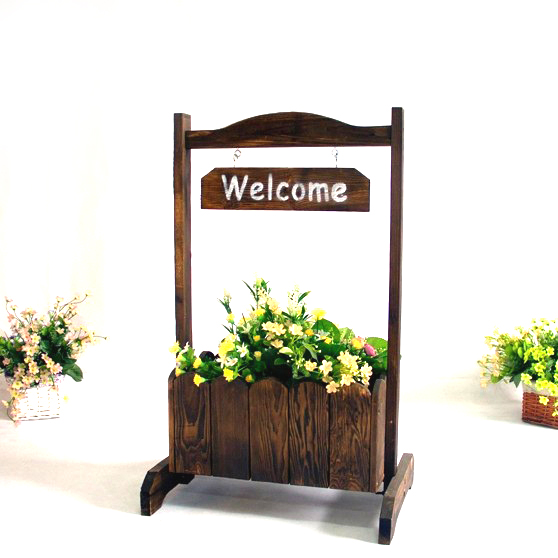 Welcome the natural wind wood preservative outdoor flower pots flower pots flower boxes wooden flower pots wood outdoor flower pots