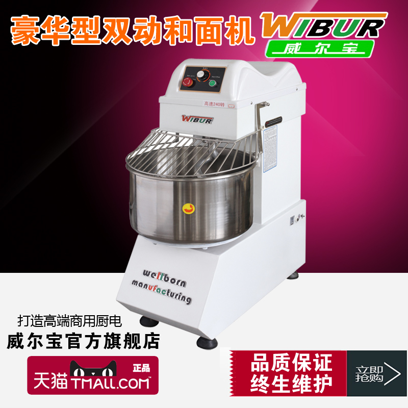 Wellborn pre-2015 YS-W70H-2B enhanced luxury 5l commercial stepless speed dual action 3 and noodle machine