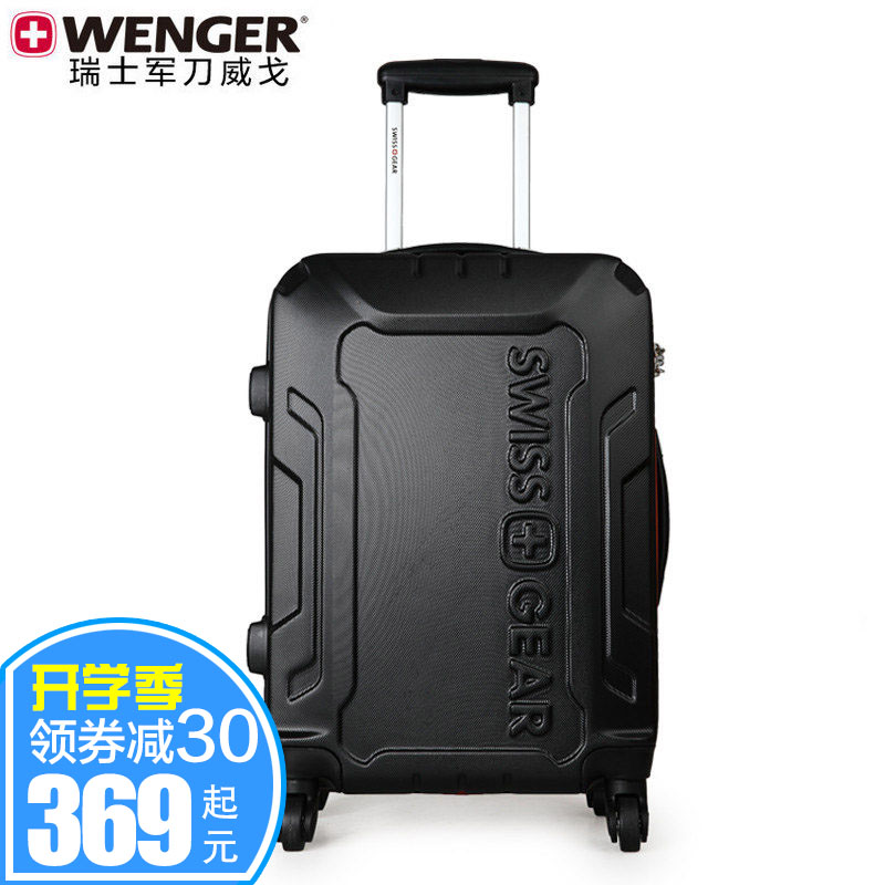 Wenger wenger genuine swiss army knife inch 22/26 men and women students trolley suitcase travel luggage bags for men and women