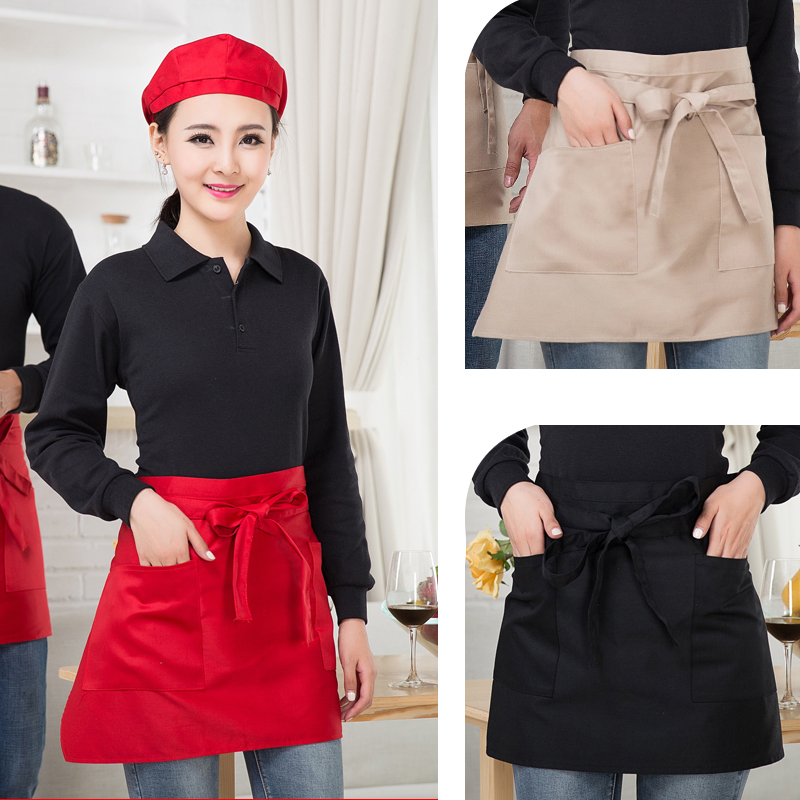 Western restaurant waiter aprons aprons chef aprons bust half apron wine restaurant waiter work apron