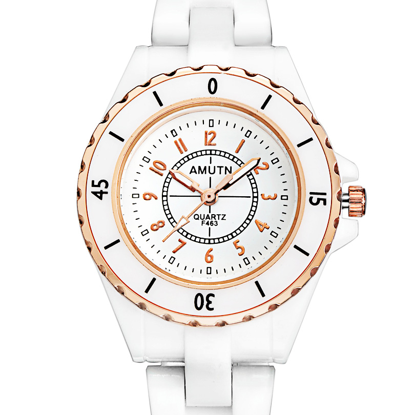 White fashion trend watch ladies watches genuine female form quartz watch korean harajuku popular korean version of casual