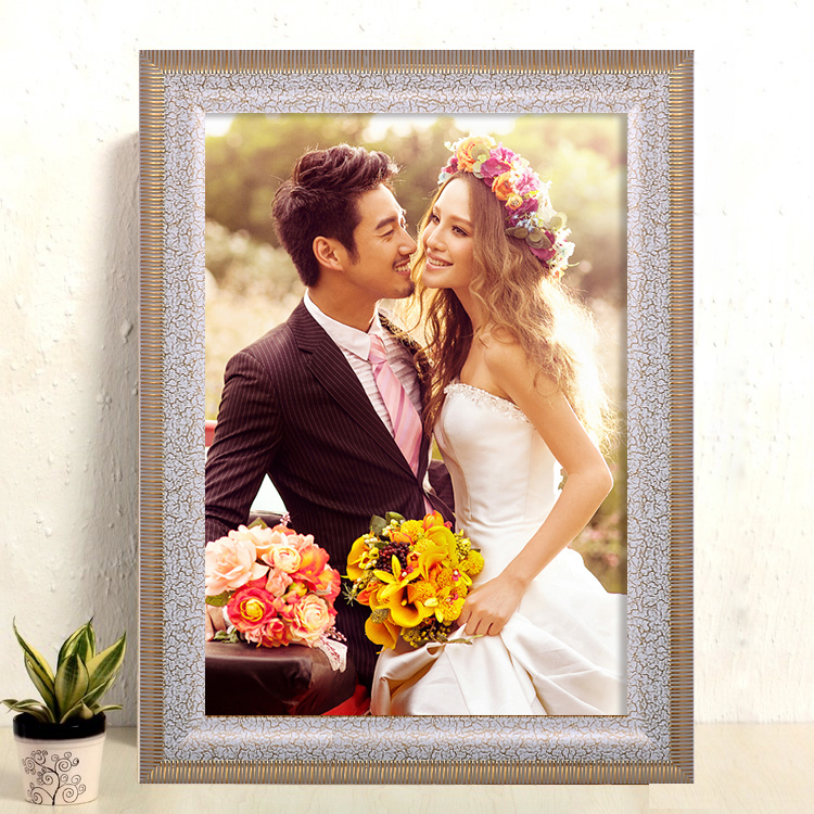 Wide passers european frame swing sets wedding photo frame 16 7-inch frame 1000 puzzle box frame wedding photo frame photo frame wall