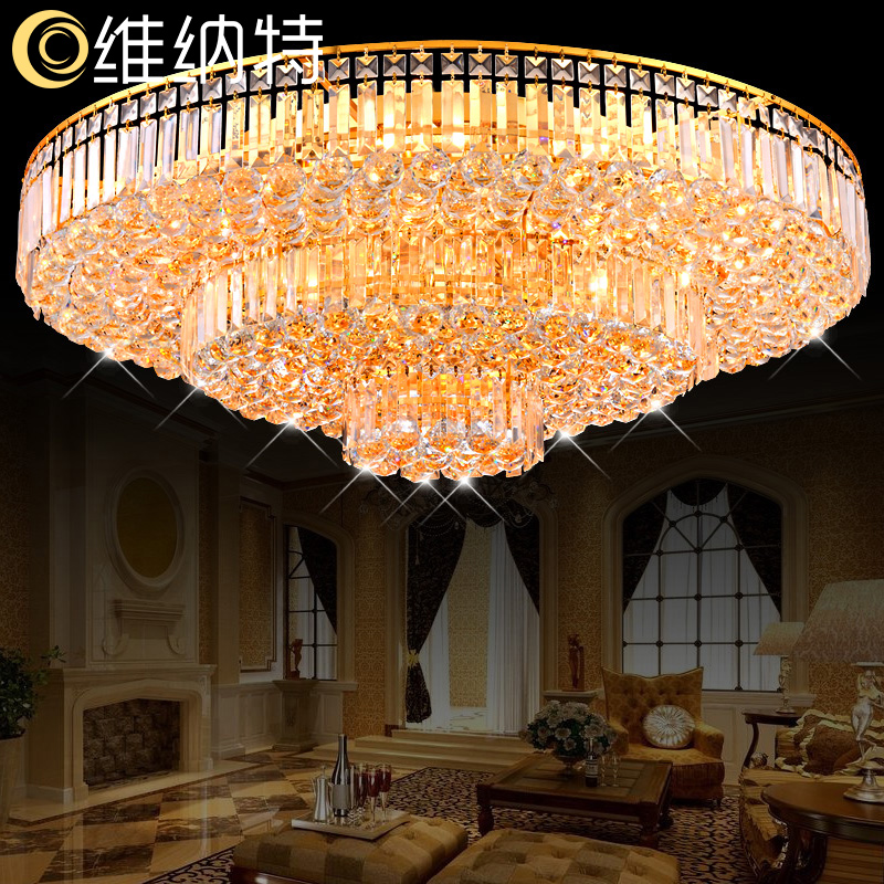 Wienert simple and stylish modern living room lights cornucopia led crystal lamp ceiling lamp bedroom lamp restaurant lights lamps