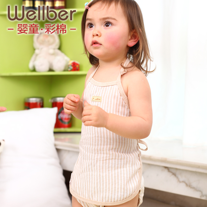Will bayrou cotton double gauze newborn baby apron apron baby care belly apron summer thin section