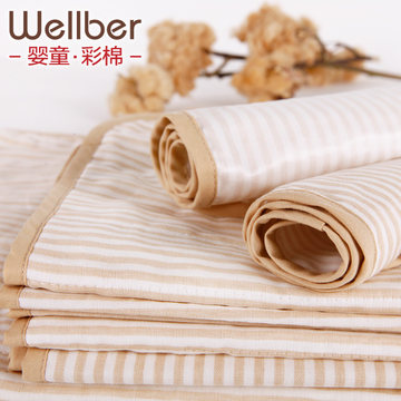 Will bayrou cotton gauze baby changing mat breathable waterproof changing mat towel super soft thick