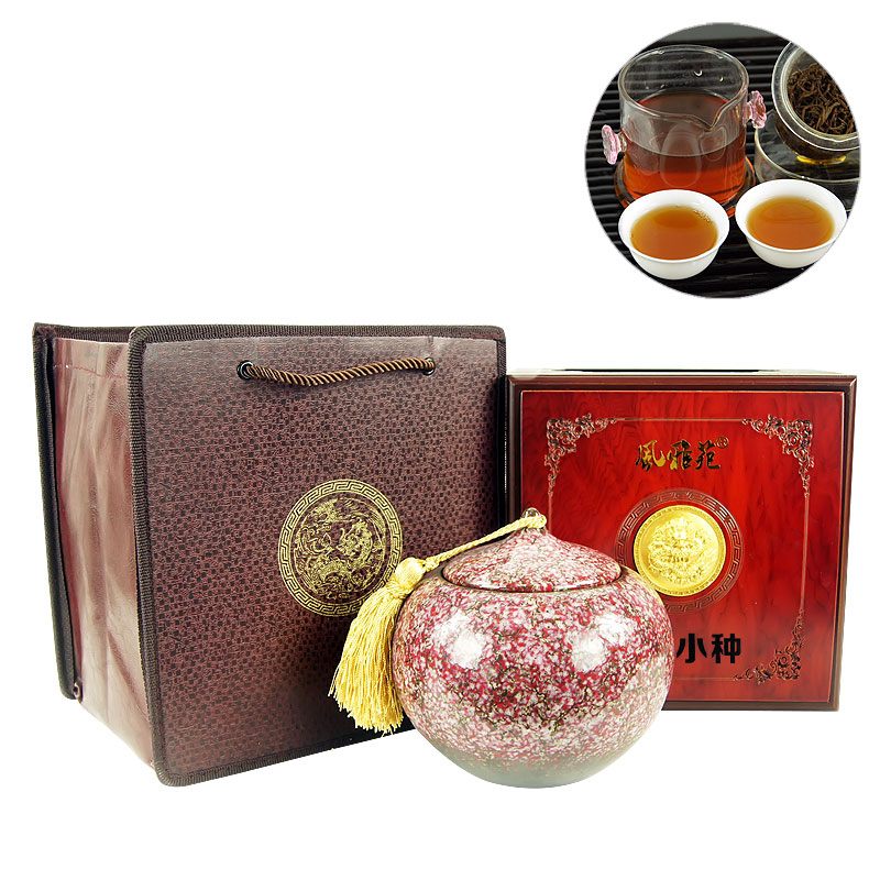 Wind nga ming collection g fragrant lapsang souchong tea gift tea paulownia off tea star village souchong red tank
