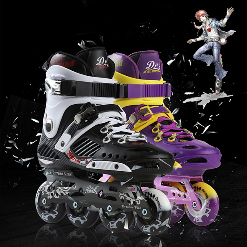 Wind power t_3 tournament f7 skates professional level hua xie skates inline skates roller skates adult skates fancy shoes Shoes