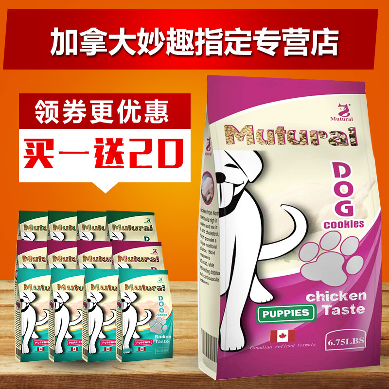 Wit dog puppy chicken 3 kg small dogs than xionggui bin teddy golden retriever puppy adult common natural food