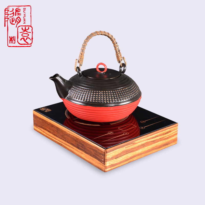 With the garden tea kettle household mute mini electric ceramic stove electric stove electric stove boiling teapot free shipping