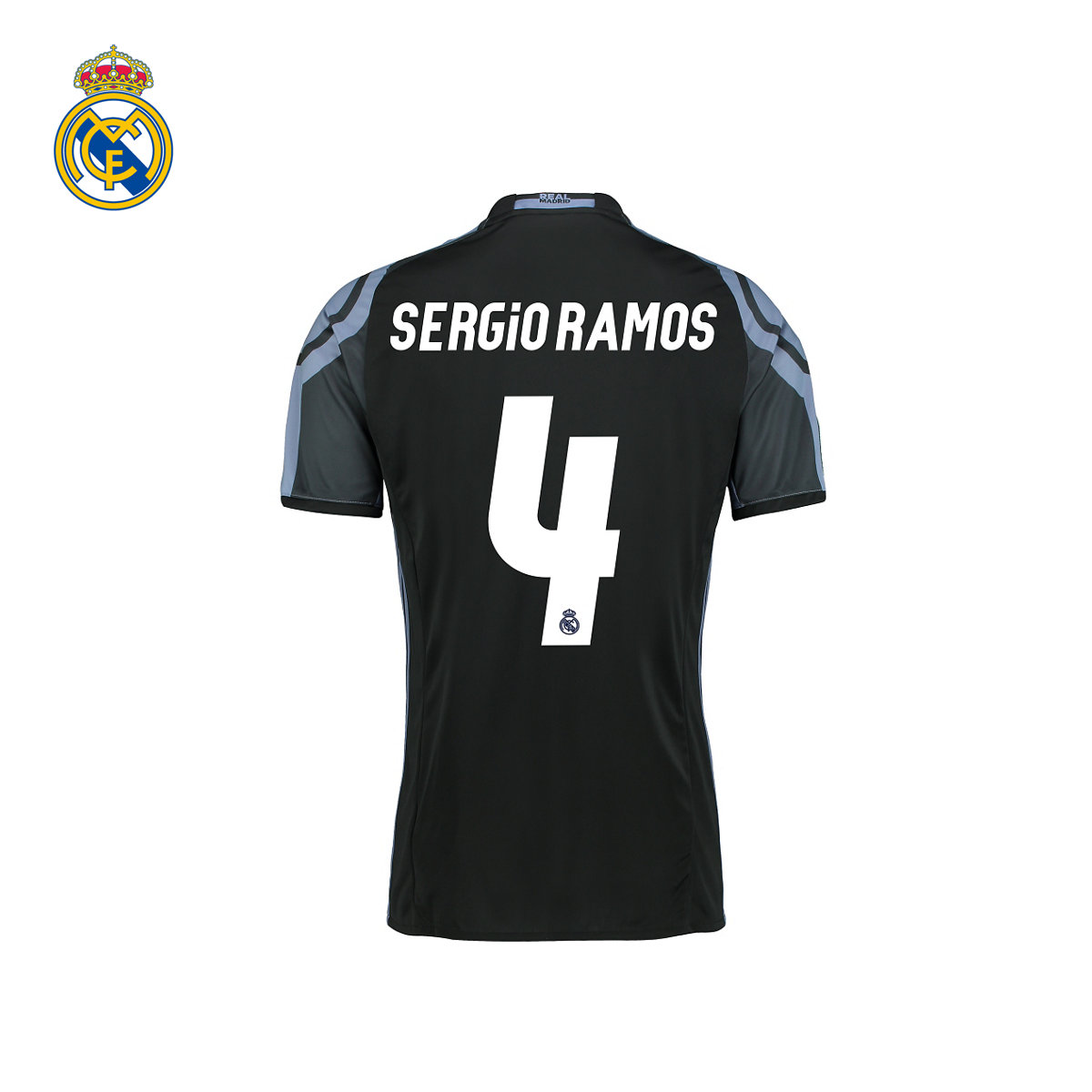 [Woman] real madrid real madrid ramos ramos jersey short sleeve jersey 16/17 season of the third set of 4