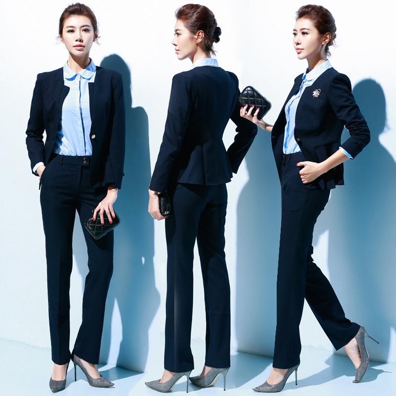 Get Quotations · Women career suits chaps ol suit suit suit autumn and  winter women s wear women s formal wear 995119b2b502