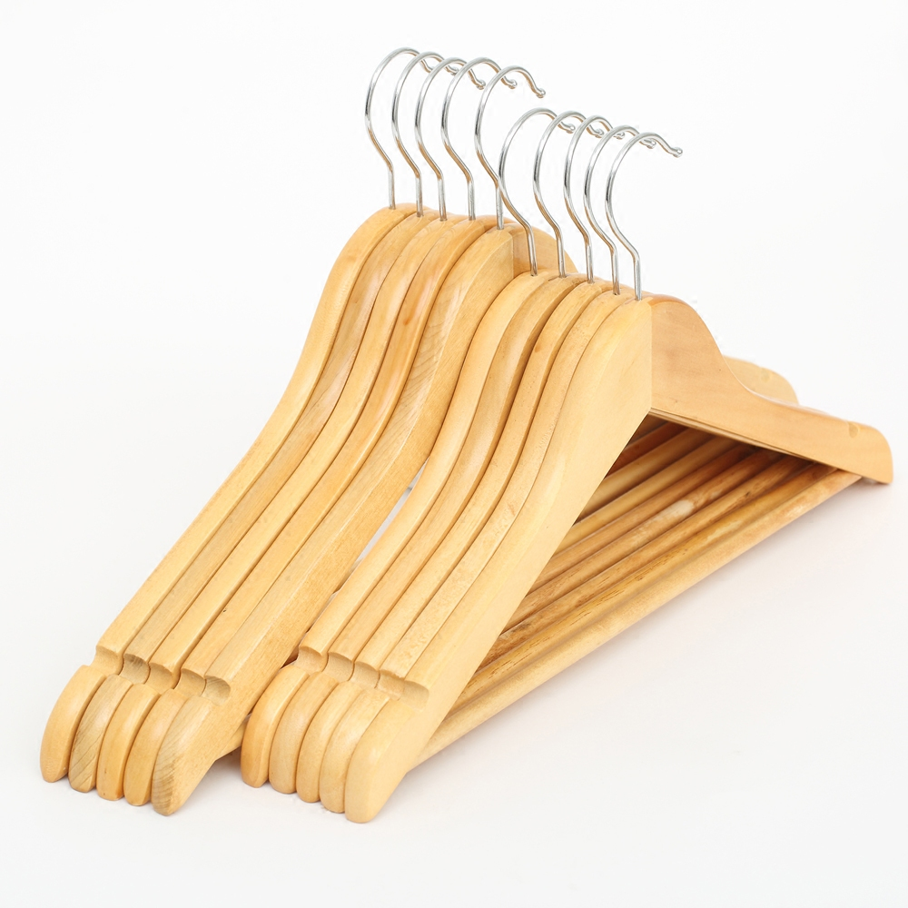 Women wood wooden hanger wooden hanger slip hanger coat hanger wood home modern wooden clothes hanger child support