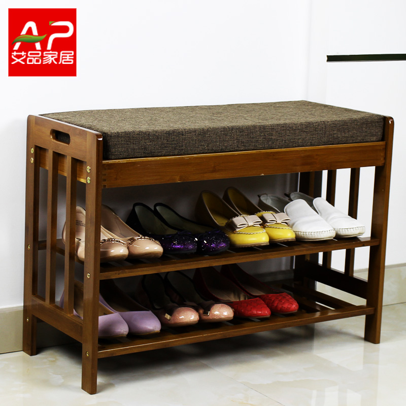 Wood shoe shoes stool stool changing his shoes shoe shoe storage stool benches crasset sha hair simple bamboo stool stool stool continental