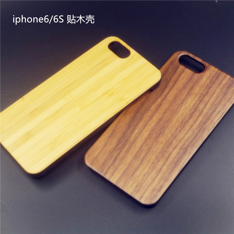 Wooden phone shell apple iphone6 plus s woodiness bamboo wood shell protective shell 5s protective sleeve popular brands